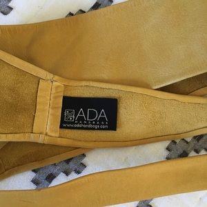 bf8ba4ffb19 Ada Accessories - ADA Mustard Yellow Obi Belt